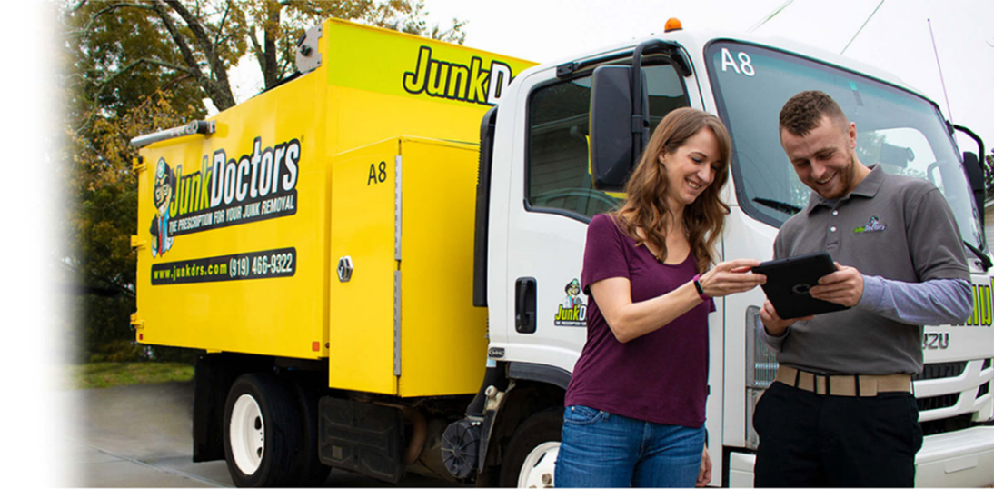 Junk Removal Trucks Ready To Work