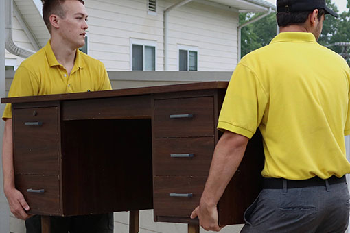 Our company size ensures that you only get the highest quality junk removal work from Junk Doctors!