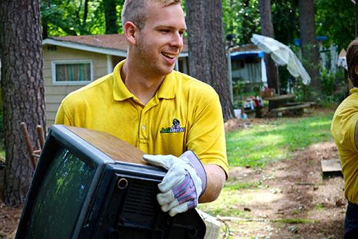 ... making Junk Doctors team members true junk removal professionals!