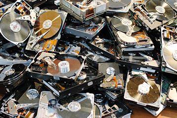 old hard drives